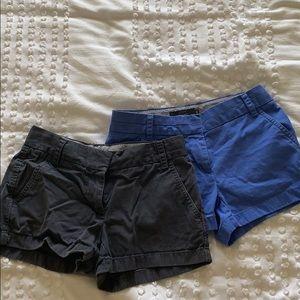 """2 Pairs of Jcrew chinos shorts 3"""""""